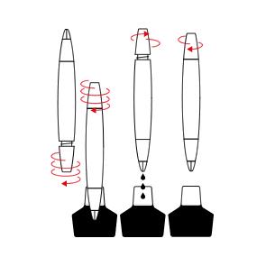 Cum sa alimentezi cu cerneala un stilou LAMY cu piston