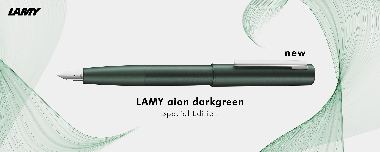 LAMY aion dark green